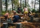Saunan rakennustalkoot v.1999_5